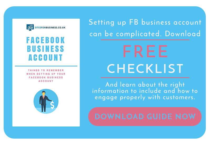 how to set up facebook business account